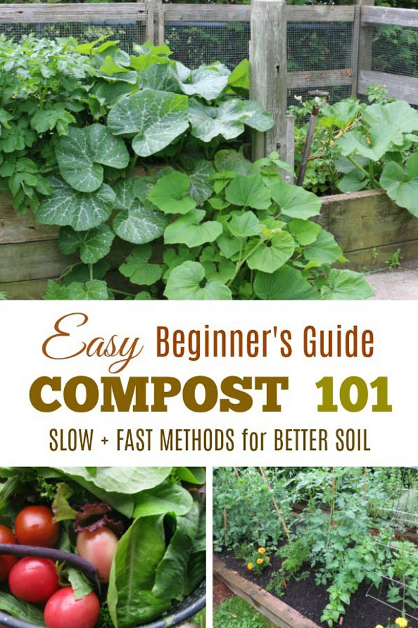 Composting 101 | Slow & Fast Methods