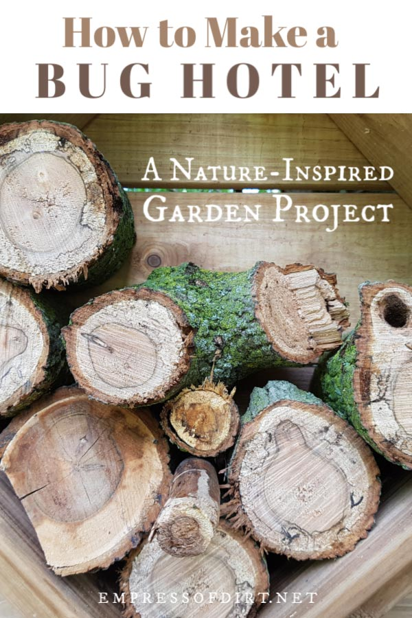 How to Make a Bug House for Your Garden