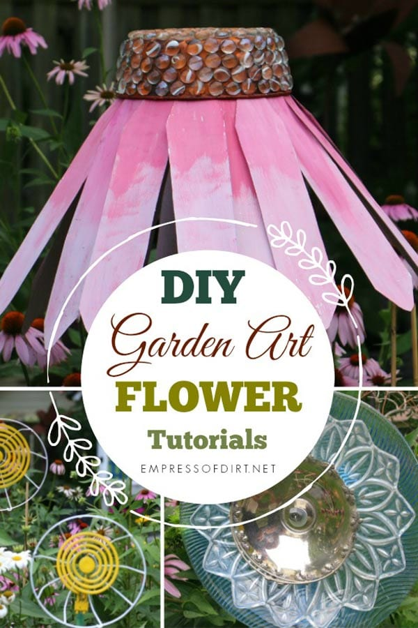 DIY Garden Art Flower Tutorials