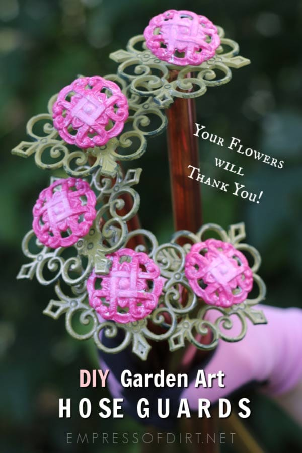 How to Make Garden Art Flower Hose Guards
