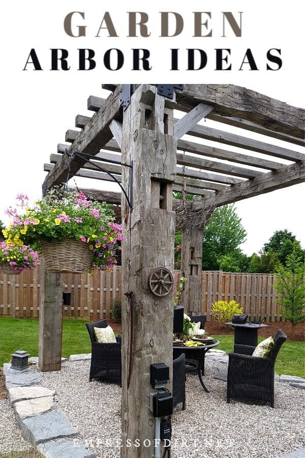 20+ Arbor, Trellis, & Obelisk Ideas for Home Gardens