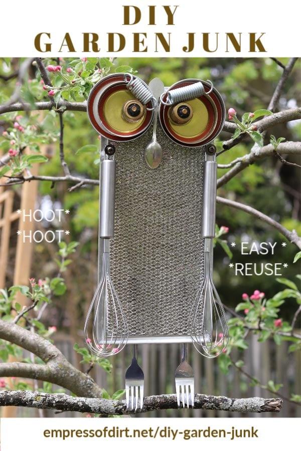 Easy Way to Make Garden Junk | Owls, Cats, & More