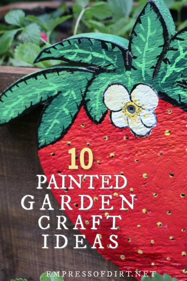 Hand Painted Garden Inspired Craft Diy Projects Empress Of Dirt