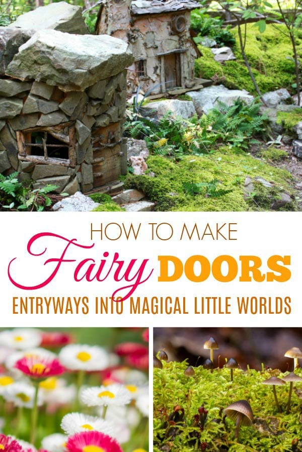 How to Make Fairy Garden Doors