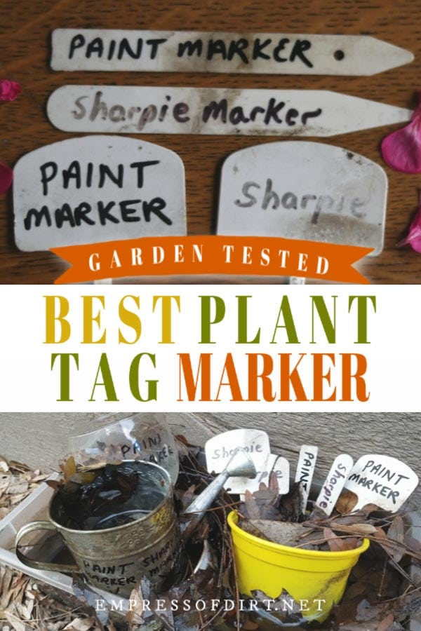 Testing Plant Tag Marking Pens (Includes Fails)