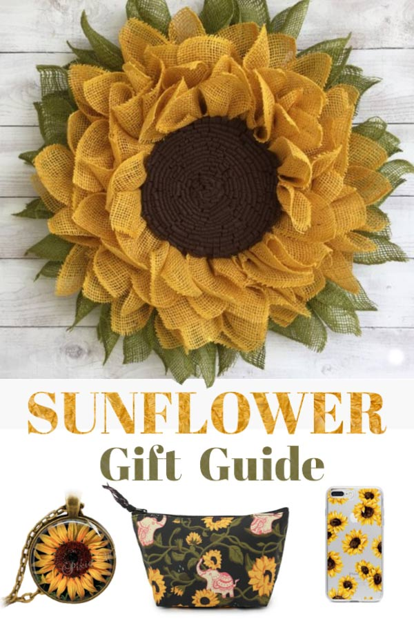 The Essential Gift Guide for Sunflower Maniacs.