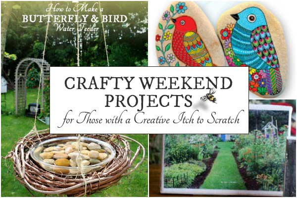 7 Crafty Projects for a Weekend Afternoon