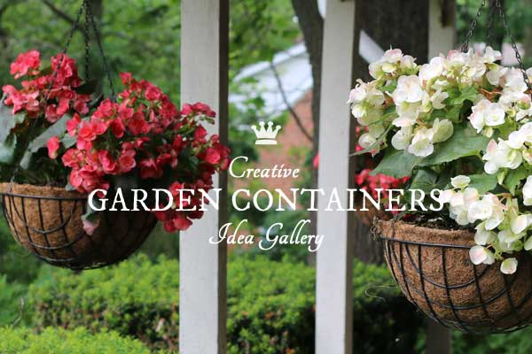 16+ Creative DIY Garden Containers