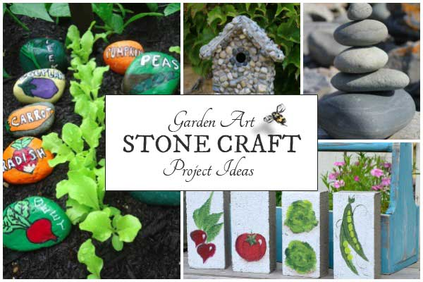 Garden Craft Ideas gardening crafts1 Whether You Use Garden Stones For Their Natural Beauty Or Choose To Decorate Them With