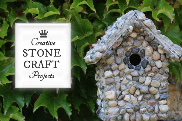 Garden Stone Craft Projects
