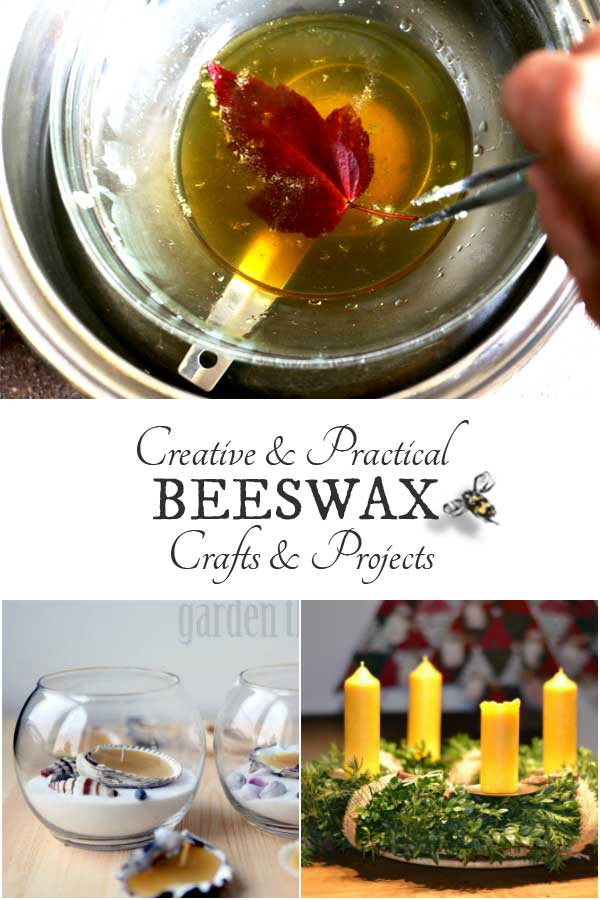 Beeswax is a natural material produced by bees, used for crafts, candles, cosmetics, candy, pharmaceuticals, and solve various household problems for thousands of years. With beekeepers tending hives around the world, beeswax is still readily available today and perfect for all sorts of creative uses in your home.