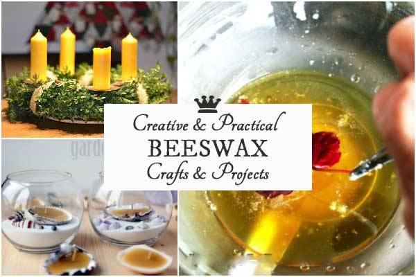 15 Creative + Practical Beeswax Projects