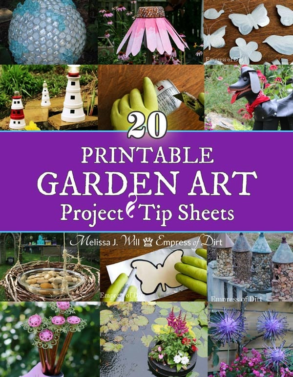 Printable Garden Art Project Tip Sheets by Melissa J. Will.