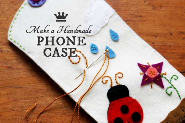 Make a Felt Phone Case