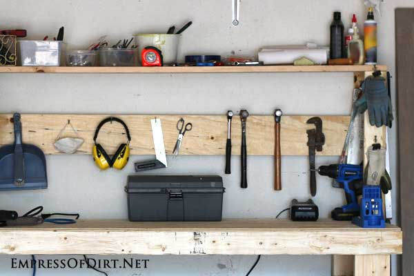 Build A DIY Workbench on Wheels