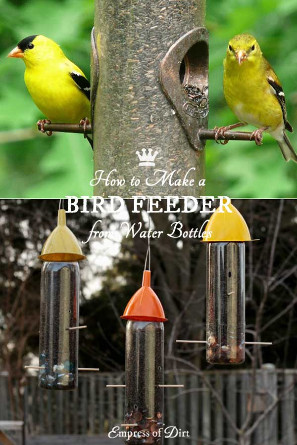 DIY Water Bottle Bird Feeders | Recycled Crafts