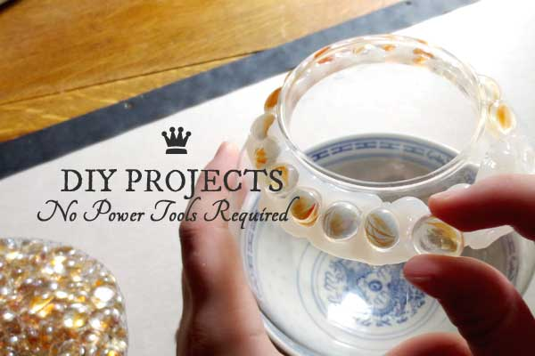 30+ DIY & Craft Projects – No Power Tools Required