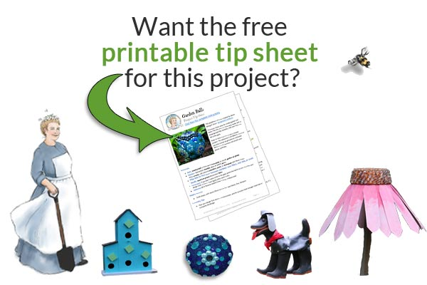 Free printable project tip sheets at Empress of Dirt