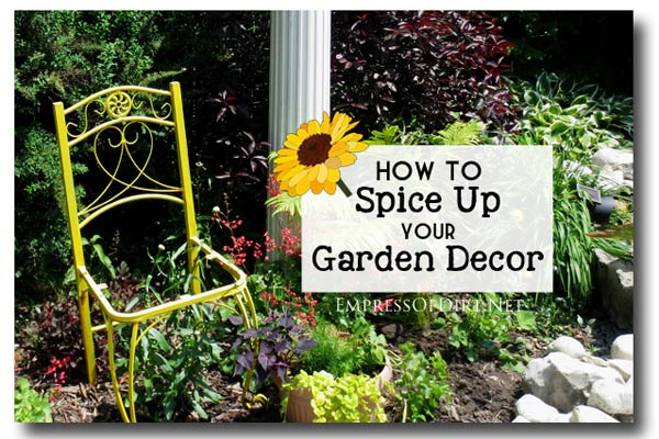 How to spice up your garden decor. 15 creative ideas from DIY bloggers.