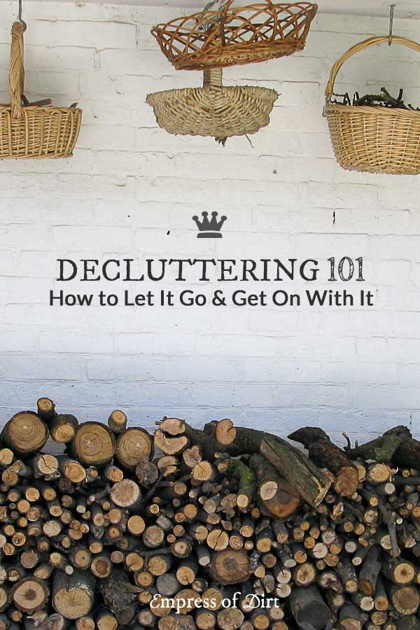 Would you like a clean and organized home that makes it easy to get on with living the life you want? Stop letting clutter get in the way and let it go! This gives a fresh perspective to get you started.