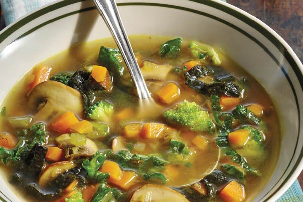 This paleo detox vegetable soup recipe is part of a lifelong food plan for anyone concerned with blood sugar problems including predibetics, diabetics, or those wanting to follow a healthy, balanced diet.