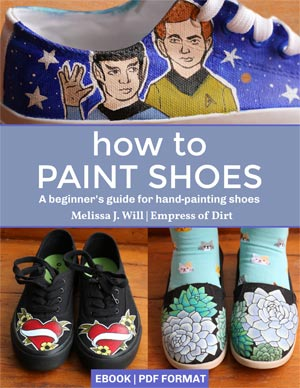 How to Paint Shoes ebook by Melissa J. Will - Empress of Dirt