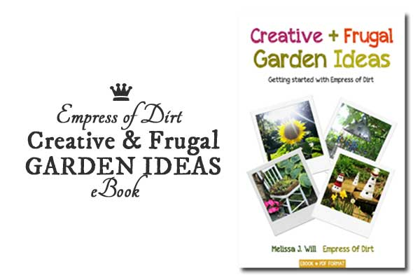 Creative + Frugal Garden Ideas is a free ebook with lots of ideas for your garden