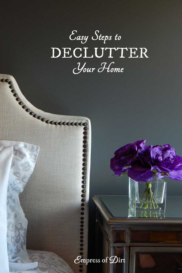 If you really truly want to declutter your home and live lighter, this decluttering method should help. It's a quick, goal-oriented method that skips over all the annoying tasks normally associated with a big household purge. It's not very everyone but it sure works!