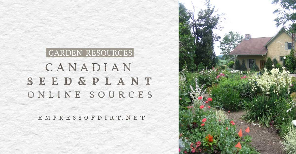 Canadian Garden Seed Companies