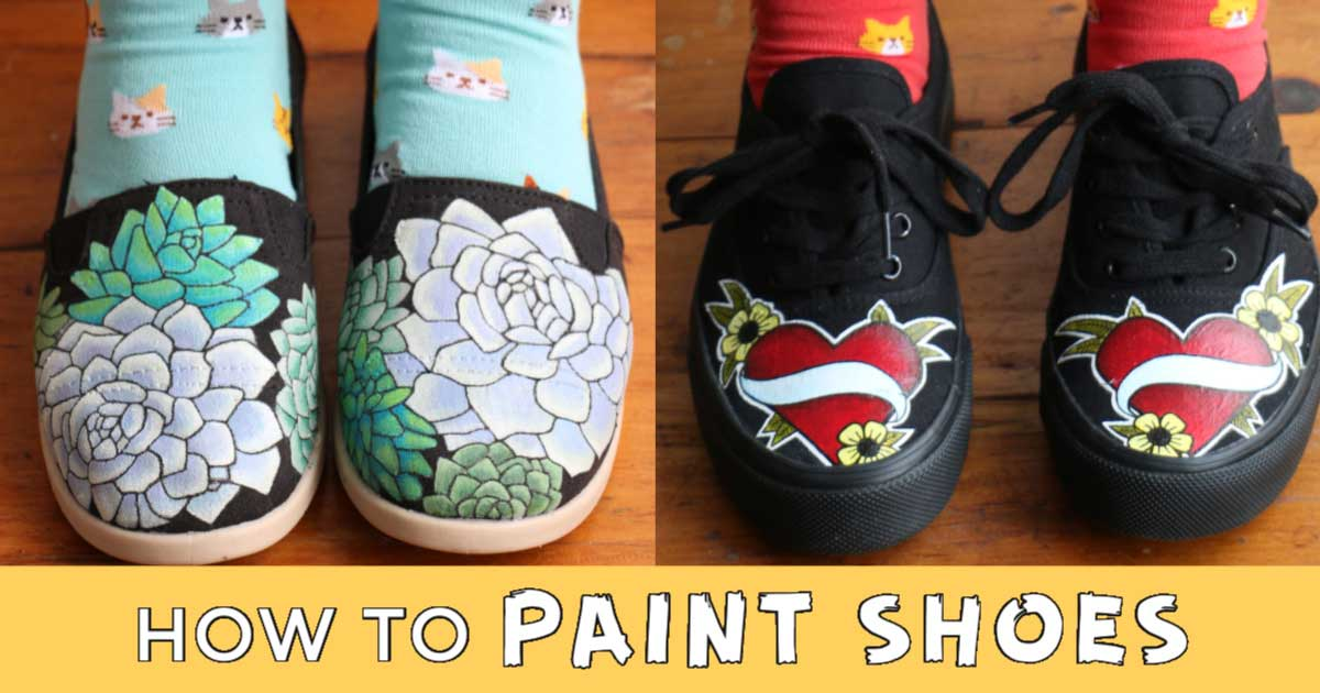 How To Paint Shoes | Empress of Dirt