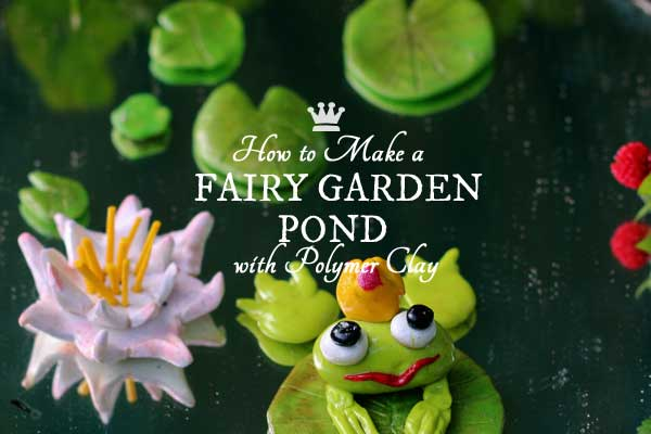 Fairy Garden Pond Diy How To Make