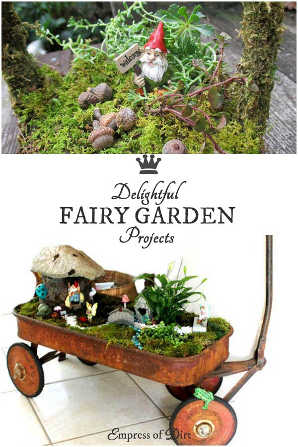 Gnome Garden Ideas marlene kindreds wheelbarrow fairy garden 9 Little Diy Garden Ideas Including Miniature Gardens Gnome Garden Patio Water Garden