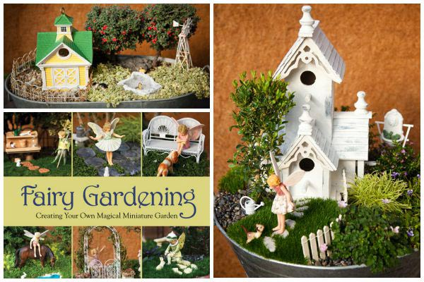 Fairy gardens are about storytelling. You set up a scene and the imagination takes it from there. This first tip makes things so much easier! Instead of assembling a bunch of supplies and hoping they somehow work well together, start with a theme.