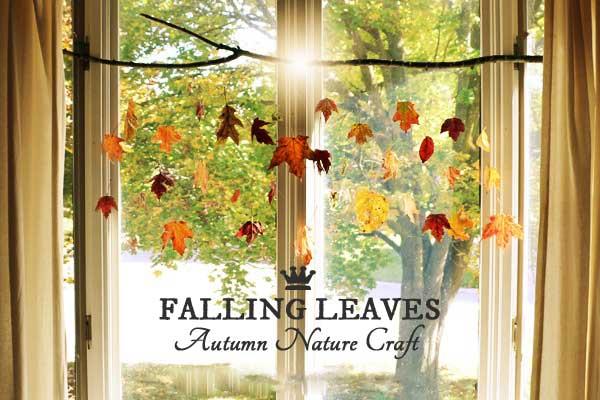 DIY Falling Leaves | Autumn Nature Craft