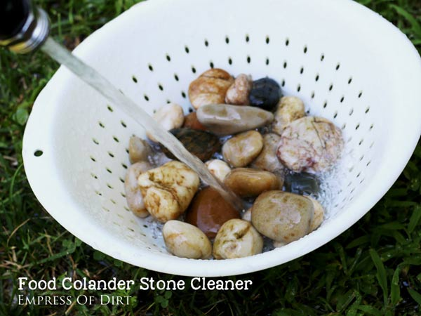 Food Colander Stone Cleaner