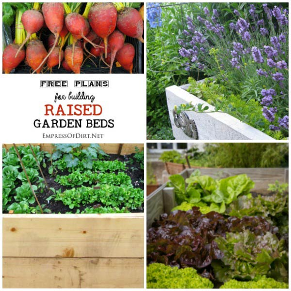 Free Building Plans For Raised Garden Beds. Whether Youu0027re Looking To Start  A