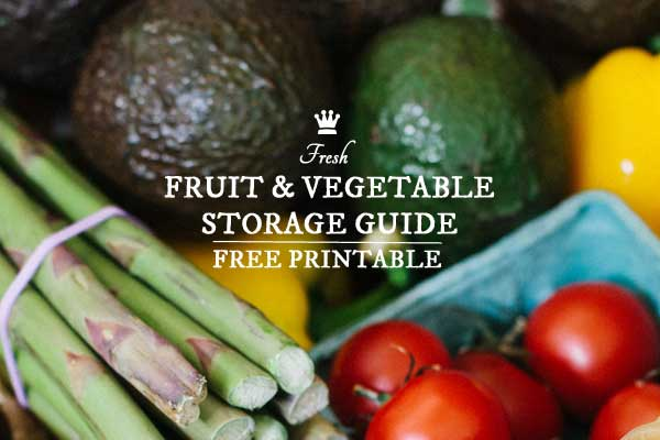 Sassy image with regard to printable fruit and vegetable storage chart