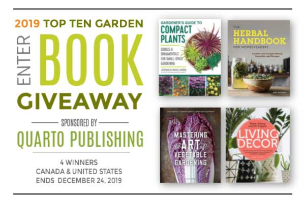Top 10 Garden Books of 2019