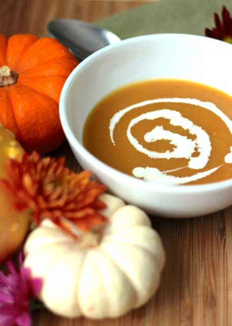 Mummy's pumpkin soup | 12 Vegetarian Soup Recipes for delicious snacks and meals