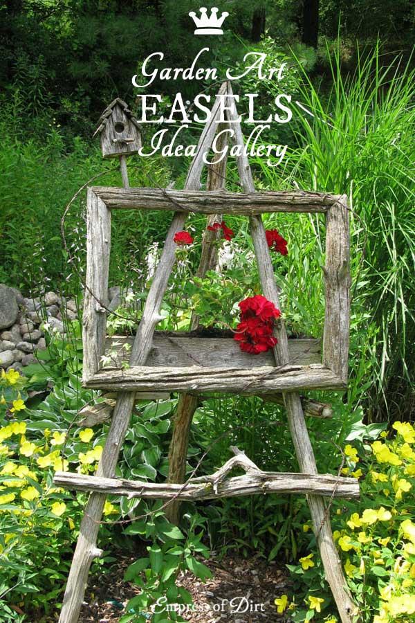 Garden Art Easel Gallery