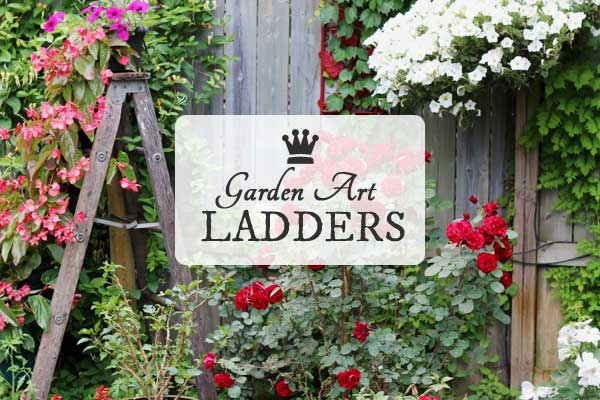 Gallery of Garden Art Ladders