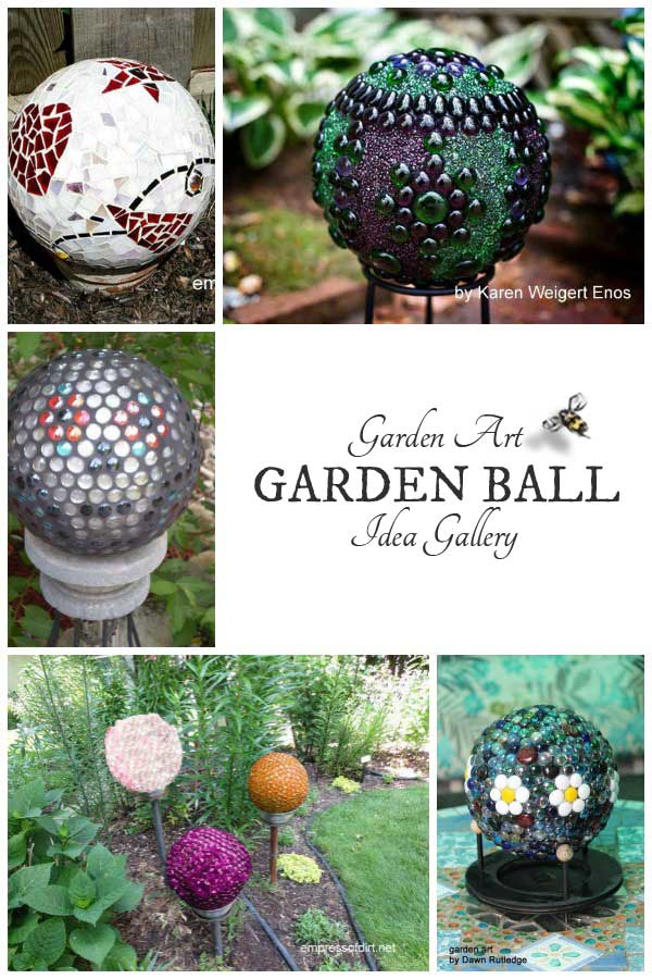 Garden balls idea gallery for making these decorative orbs for your outdoor space.