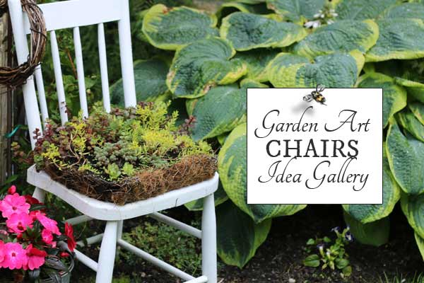Garden Art Chairs & Planters