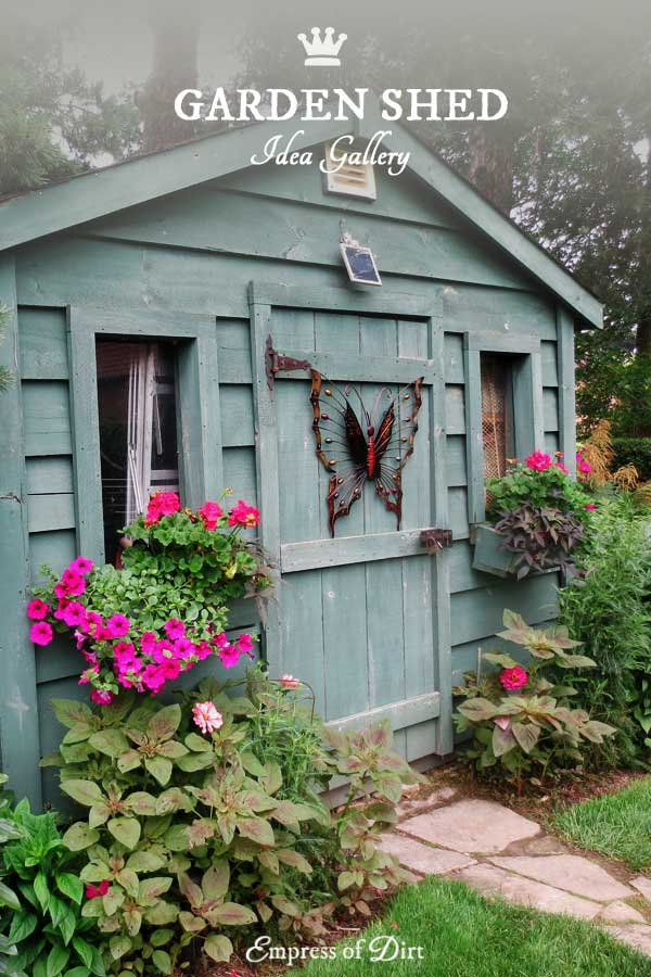 Garden Sheds Ideas inside potting shed photos inside the potting shed is this cute or what Creative Garden Shed Ideas For The Garden