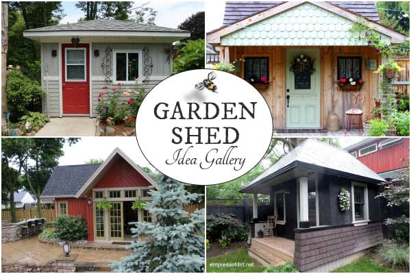 If you're thinking of building a garden shed, renovating one you have, or simply love tiny buildings, this gallery is for you. There's so many choices for layout, design, windows, doors, and basic building materials. Browse through and save your top picks to Pinterest.