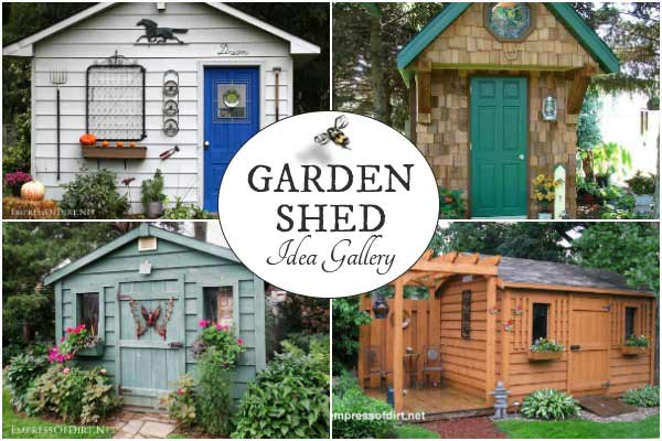 Want garden shed ideas for your backyard? I've got lots of idea photos - 40 Creative Home Garden Shed Designs Empress Of Dirt