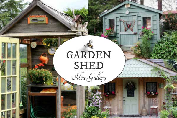 Garden shed idea gallery