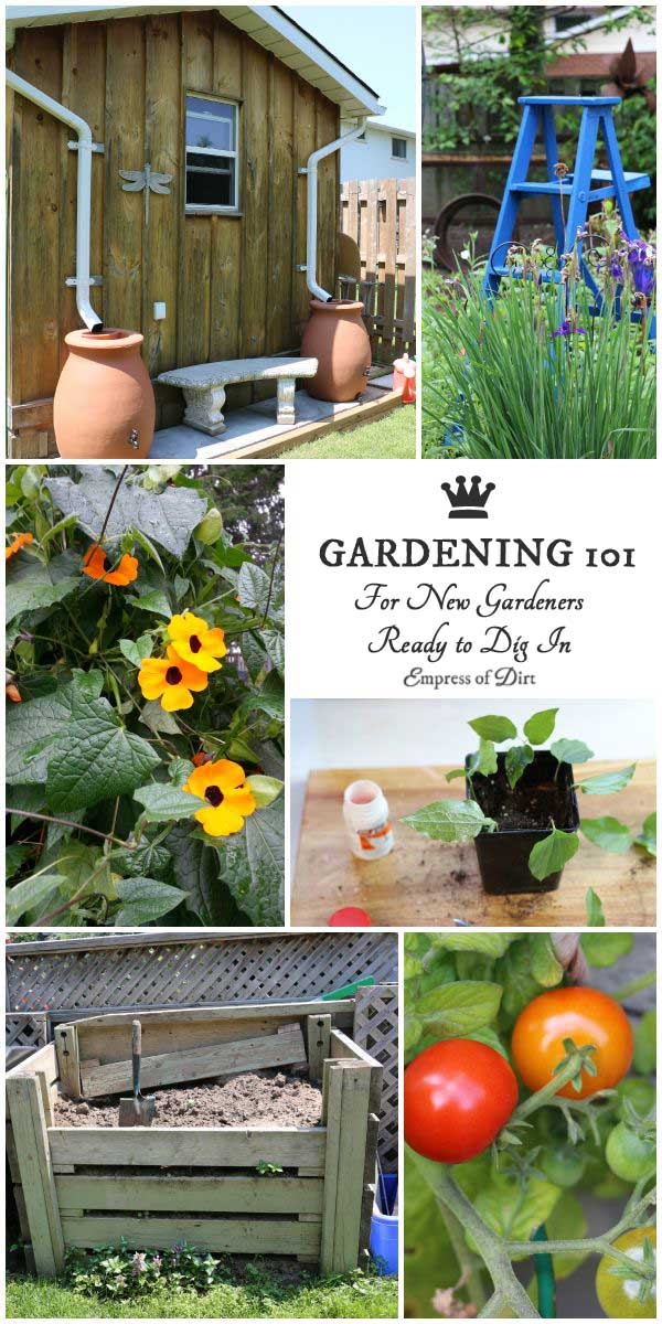 Do you dream of a beautiful flower or vegetable garden—or both—but don't know how to get started? Hop on over to the Empress of Dirt and dig in to easy to understand how-tos on all of the garden basics. We're talking soil, compost, seed starting, garden planning, and creative, repurposed garden art. Once you get started, you will fall in love with life outdoors!