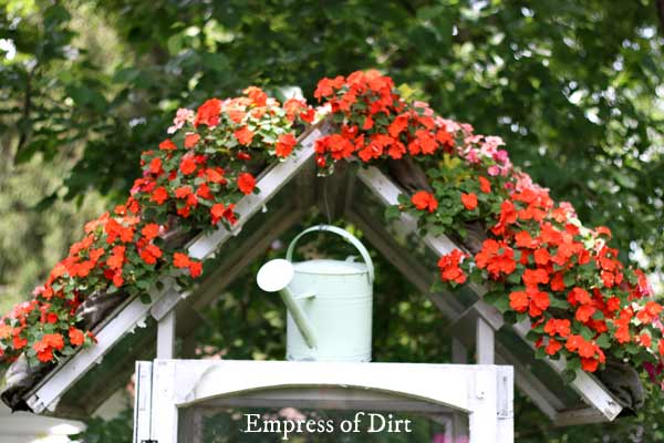 Easy Way To Grow A Flower Roof Or Wall Garden Empress Of