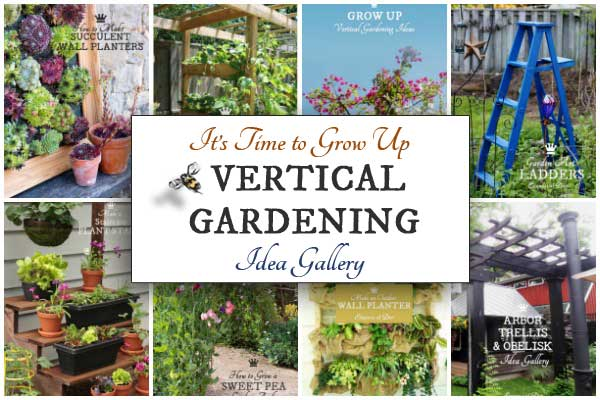 Vertical gardening idea gallery empress of dirt for Limited space gardening ideas